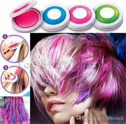 Hot Huez Colorful Hair Cream Party Supply Natale Masquerade Performan stupefacenti capelli lavabili Pigmenti Marchi europei e americani di moda