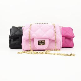 4b473079552e Cute Kid Girls Quilted Pu Fashion Handbag Cute Baby Children Brand Princess  Party Crossbody Bag With Gold Chain Purse Wallet