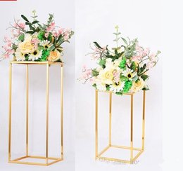 $enCountryForm.capitalKeyWord Australia - Metal Flower Vase Stand Wall Backdrop rack for Rose And Hydrangea event party walkway aisle Wedding Decoration Wall flower decoration