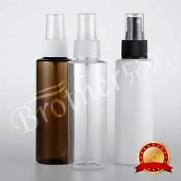 make spray bottle Canada - 50pcs 120ml Refillable Portable bottle Traveler Spray Atomizer Empty Parfum bottle Scent Pump Case make up tool