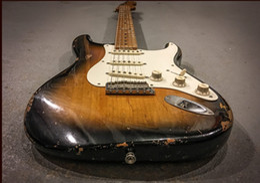 Custom shop maple online shopping - In pre ordering Custom Shop Limited Edition Eric Johnson Maple Fingerboard Color Sunburst Relic electric guitars