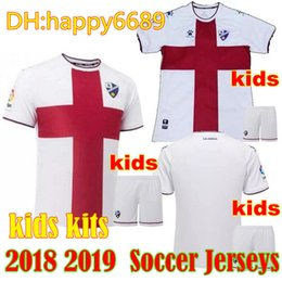 2018 2019 top thai quality SD Huesca kids jersey 18 19 home away LEO FRANCO  AXEL WERNER PABLO GOMEZ soccer jerseys INSUA football shirts 269fc9976
