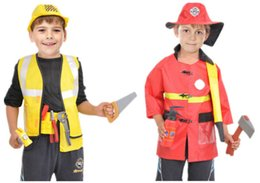 $enCountryForm.capitalKeyWord Australia - 2019 Hot Sale Kids Halloween Fire Costume Children Day Police Attorney Pilot Doctor Worker Pilot Performance Boy Girl Cosplay Costume