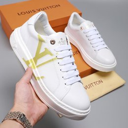 fast flats NZ - Luxury Mens Shoes New Arrival Plus Size Footwears Style Sports Low Top Lace-up Men Shoes Fashion Sneakers Flats Platforms Fast Delivery
