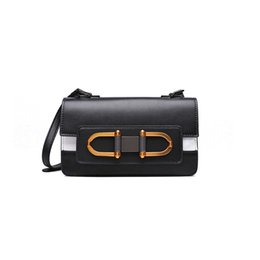 $enCountryForm.capitalKeyWord UK - Belle2019 Catch Lock Leisure Time Genuine Leather Ma'am Bag A Single Room Diagonal Small Square Package
