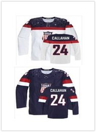 d534576fa 2018 can Team USA Jerseys  24 Ryan Callahan Jerseys men WOMEN YOUTH Men s  Baseball Jersey Majestic Stitched Professional sportswear