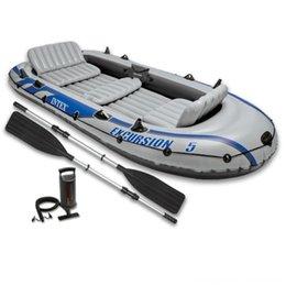 Intex Surfing Water Sports Excursion 5 Set dinghy with oars and pump 68325NP Intex Surfing Water Sports Excursion 5 Set dinghy with oars and on Sale