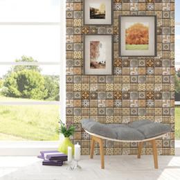 $enCountryForm.capitalKeyWord Australia - 3D Stereo Simulation Brick Wall Sticker DIY Living Room Bathroom Bedroom Kitchen Tile Decor Self-adhesive Wallpaper Poster Wall Decal