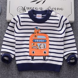 $enCountryForm.capitalKeyWord NZ - good quality Cotton Striped Sweater Baby Children Clothing Boys Girls Knitted Sweater Kids Spring Wear New Autumn Winter