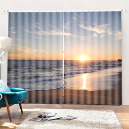 $enCountryForm.capitalKeyWord Australia - New 2019 Curtian 3d Pattern Curtian Scenic Printed Curtains for Living Room Window Hanging Decor Home Cortinas Dormitorio