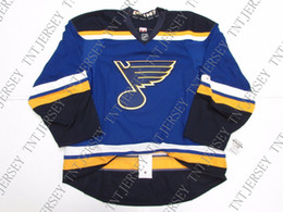 St Louis Blues Jerseys Australia - Cheap custom ST. LOUIS BLUES NEW HOME TEAM ISSUED JERSEY stitch add any number any name Mens Hockey Jersey XS-5XL