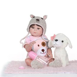 $enCountryForm.capitalKeyWord Australia - Full Body Silicone Reborn Girl Baby Doll Toys Lifelike Baby Reborn Doll Child Birthday Christmas bebe Gift reborn bonecas