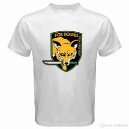 $enCountryForm.capitalKeyWord Canada - Metal Gear Solid Fox Hound Special Forces Group Mens White T-Shirt Size S to 3XL T Shirt Men Fashion Custom Short Sleeve Boyfriend's Bi