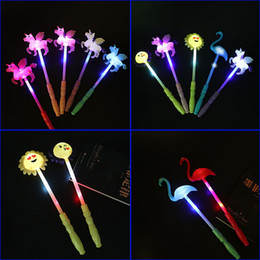 $enCountryForm.capitalKeyWord Australia - Cheering to cheer Led glow sticks children's glow toys Flash Unicorn glow sticks