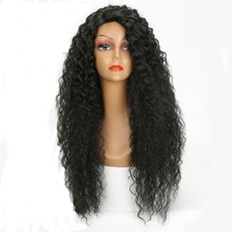 Human Hair Brazilian Loose Curly Australia - 13x4 Lace Front Human Hair Wigs for Black Women Remy Brazilian Loose Curly Lace Front Wig Pre Plucked With Baby Hair