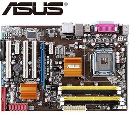 China Asus P5QL EPU Desktop Motherboard P43 Socket LGA 775 Q8200 Q8300 DDR2 16G ATX UEFI BIOS Original Used Mainboard On Sale supplier mainboard ddr2 asus suppliers