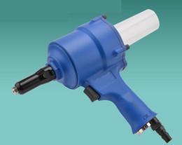 Ingrosso rivetto pistola pneumatica ribattino rivettatrice strumento Inserisci strumento chiodo 2.4-4.8mm T07003-1