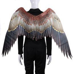 $enCountryForm.capitalKeyWord Australia - new Mardi Gras Big Eagle Wings Costumes Non Woven Fabrics dark wings Adult Halloween Carnival Fancy Dress Ball Costumes cosplayT2I5329