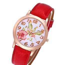 $enCountryForm.capitalKeyWord Australia - 2019 Top Brand New Luxury Women Watch Rose Flower Print Silicone Band Floral Jelly Dress Bracelet Watches Quartz WristWatch Gift