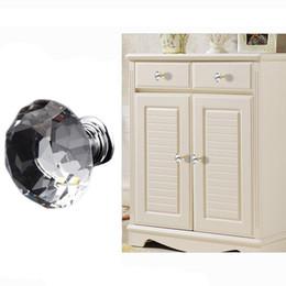 $enCountryForm.capitalKeyWord UK - Drawer Knobs Kitchen Furniture Cabinet Handles Delicate Crystal Glass Knobs Cupboard Pulls 30mm Diamond Shape Design Handles DH0921