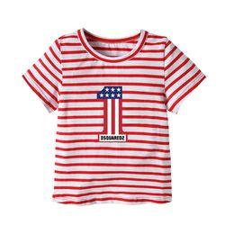 $enCountryForm.capitalKeyWord Australia - Latest Infant Baby Children's wear Summer Boy One shirt Design Number T- shirt Colorful color block shirts