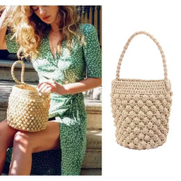 $enCountryForm.capitalKeyWord Australia - Beach Straw Bags for Women Travel Handbags Summer Rattan Shoulder Bags Handmade Knitted Travel Big Sea Totes Bag 2019 Fashion