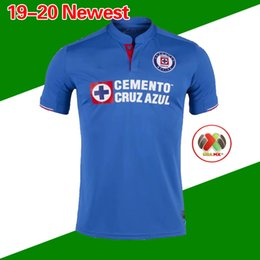 New Arrived 2019 2020 Mexico Club Cruz Azul Liga MX Soccer Jerseys 19 20  Home Blue Away White Football Shirts camisetas de futbol 79e191ed7