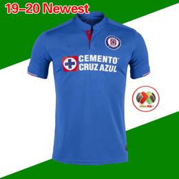 d34cf221525 New Arrived 2019 2020 Mexico Club Cruz Azul Liga MX Soccer Jerseys 19 20  Home Blue Away White Football Shirts camisetas de futbol