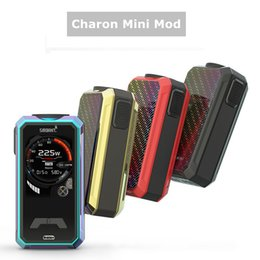 $enCountryForm.capitalKeyWord NZ - 2019 cheap price Authentic Smoant Charon Mini 225W Box Mod with 2,0inch TFT Screen Dual 18650 Battery Powered E Cigarette Vape Mod by dhl