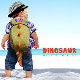 Backpack Kids Leather Satchel Bag Australia - 2018 Cartoon School Bags Dinosaur Mini Small Childrens Backpack Schoolbag For Kids Kindergarten Boys Girls Satchel Mochila