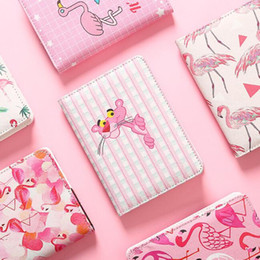 $enCountryForm.capitalKeyWord Australia - cute PU cover planner notebooks pink flamingos monthly weekly planner agenda diary journal notebooks notepads school office supplies