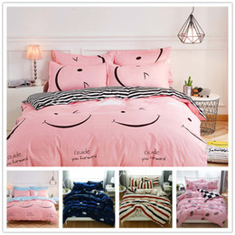 twins for sale UK - Hot Sale Fashion Bedding Set Twin Full Queen Size with Pillowcase Duvet Cover Set Gift for Kids of Home Bedclothes