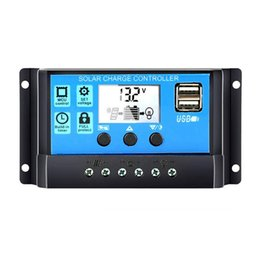 $enCountryForm.capitalKeyWord Australia - Universal Solar Panel Controller Battery Charge Regulator 12V 24V Auto With Dual USB for DIY Solar Power