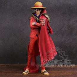 artist figures Australia - Anime One Piece KOA King of Artist Monkey D Luffy 20th Limited Figure Collectible Model Toy 25cm