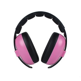 Chinese  Baby Kids Soft Earmuff Travel Gift Noise Canceling Care Portable Headphone Ear Protection Home Padded Adjustable Headband manufacturers