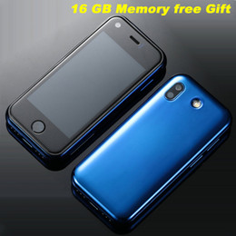 Dual Sim Android 3g Gps Australia - Updated 16GB Soyes 7S super mini smartphone 5.0MP HD Camera Dual-SIM WIFI BT Quad-Core smartfon Small 3G Touch cellular phone for student
