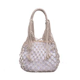 $enCountryForm.capitalKeyWord UK - ISHOWTIENDA Tassel Fashion Totes Soft Summer Women Retro Hand-Weaved Messenger Bags Solid Summer Party Girls Crossbody Bag