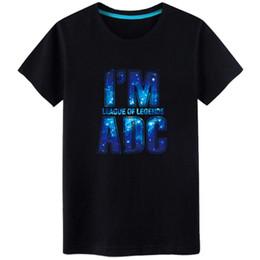 League Legends Lol Shirt Australia - League of Legends T Shirt Men Short Sleeve LOL t shirts for men Cotton S-3XL