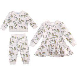 0d30a17c48a1 Unicorn Shirts Pants Dress Suits Boys Girls Clothing Sets Pure Cotton  Autumn Winter Long Sleeve Shirts Short Sleeve Dress 1-7T