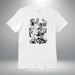 caab71703 Men Tupac Shirts Australia - Rap Legends Hip Hop Biggie Eazy E Ice Tupac T-