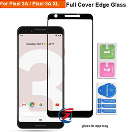 Google Glasses Australia - Full Cover Glass For Google Pixel 3A XL Pixel3A XL Full Cover Tempered Glass Phone Screen Protector Film DHL Free Shipping