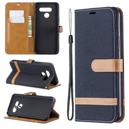 moto g5 plus phone case NZ - For Moto G5 Plus LG Q60 Case Flip Stand Wallet Cowboy Leather Photo Frame Full Phone Cover For Samsung