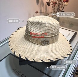 Floppy Beach Hat Large Australia - casquette Fashion Sun Hat Women's men's floppy hats Foldable Wide Large Brim Floppy bucket hat Summer Beach Sun Cap new-er6