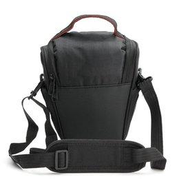 $enCountryForm.capitalKeyWord Australia - Digital Camera Black Gym Bags DSLR Camera Cover Protector Waist Case Travel Shoulder Bag Multi-functional Soft Bag 20