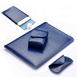 $enCountryForm.capitalKeyWord Australia - waterproof Notebook sleeve 11.6 12 13.3 15 15.4 inch leather Laptop bag pouch cover for macbook air pro 11 12 13 15 case SY001