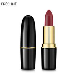 $enCountryForm.capitalKeyWord Australia - FRESHME Professional Lips Makeup Waterproof Long Lasting Pigment Shimmer Gloss Lipstick Luxury Makeup Beauty Lips Women Fashion