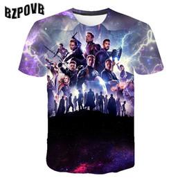 80d851dcb 2019 New design t shirt men women marvel Endgame 3D print t-shirts Short  sleeve Harajuku style tshirt tops AS SIZE