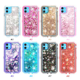 Floating cases online shopping - For iphone Pro X Case Flowing Liquid Floating Luxury Bling Glitter Sparkle TPU Bumper Case for iPhone Plus Samsung S9 Plus Note