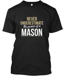 Élégant Mason Ne sous-estimez A - La puissance de Hanes Tagless T T-shirt en Solde