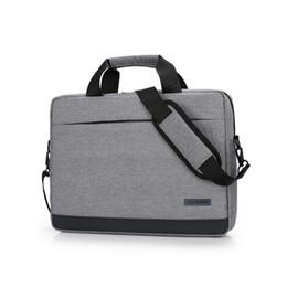 "Chinese  Laptop Briefcase Unisex Waterproof Shoulder Bag Business Notebook for 14""15"" 15.6"" MacBook ""Black"" ""Gray"" ""Red"" ""Dark Blue"" manufacturers"